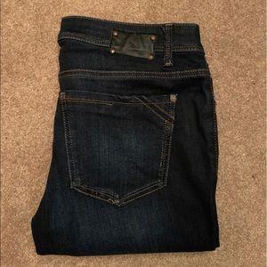 Buckle Black Bootcut Jeans